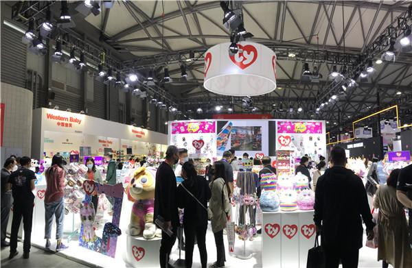 全球知名毛绒品牌Ty燃爆2020CTE中国玩具展